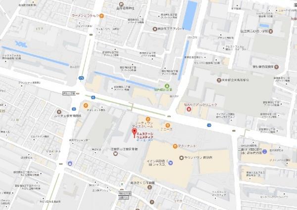 エムステージ・ウェスティアmap