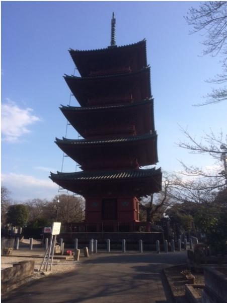 本門寺五重塔2