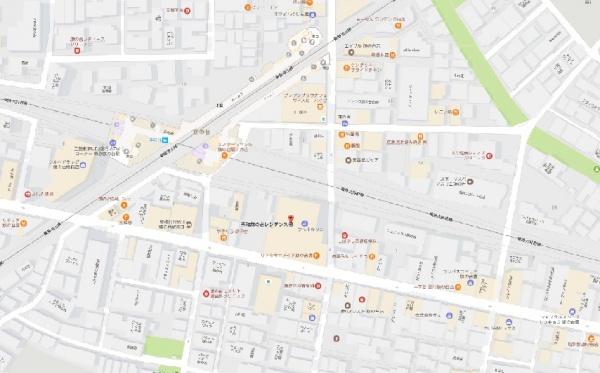 秀和旗の台レジデンスmap