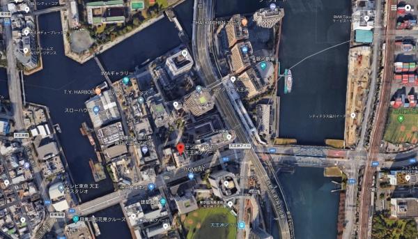 サンウッド品川天王洲タワーmap